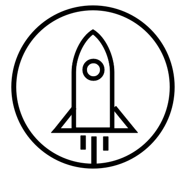 A rocket ship to represent launching your career