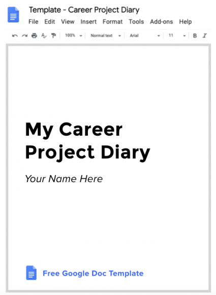 UX Career Project Diary